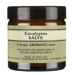 NYR Organic Eucalyptus Salve is natural safe and non-toxic relief!