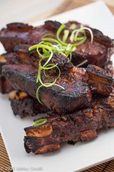 Sokalbi Gui (Korean Barbecued Beef Short Ribs) by bigflavortinykitchen #Beef #Short_Ribs #Korean