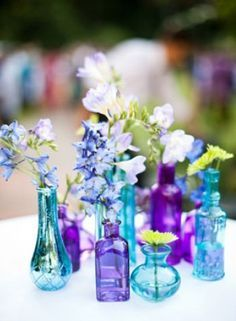 lavender and turquoise wedding colors - Google Search