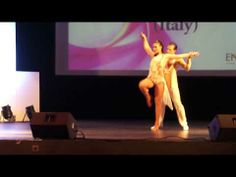SIBLF 2014 (25th Jan) - Simone & Serena (Italy) - YouTube