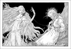 The Sleeper and the Spindle by Neil Gaiman. Bloomsbury, 2014.  Illustrator Chris Riddell.
