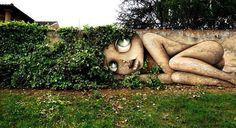 When Street Art meets nature by Vinie