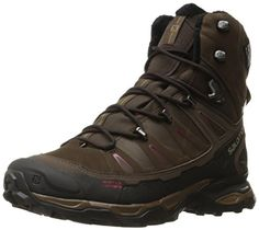 Salomon Womens X Ultra Winter CS WP W Snow Boot Absolute BrownBrown BlackBordeaux 7 M US *** Check out this great product.(This is an Amazon affiliate link and I receive a commission for the sales)