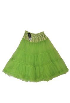 Lady Vintage Apple Green Petticoat