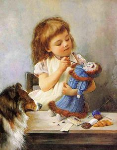 The Young Artist by Alexander Mark Rossi (1841 – 1916, English)