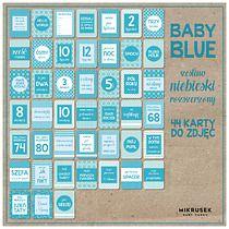 Karty do zdjęć dla niemowląt.