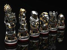 Lannister Chess Set.