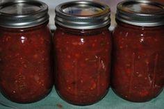 Salsa canning recipe