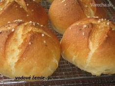 Home Baking, Russian Recipes, Ciabatta, Bread Rolls, Food And Drink, Cooking, Hamburger, Hampers, Breads