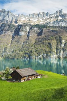 Walensee, St.Gallen, Switzerland