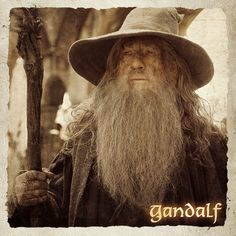 Gandalf -- The Hobbit and Lord of the Rings Hobbit Funny, O Hobbit, The Hobbit Movies, Gandalf, Middle Earth Books, Science Fiction, Rings Film, Lotr Cast, Roman