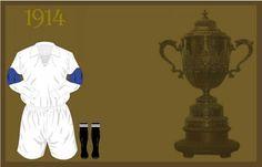 Uniforme da Seleção Brasileira de futebol de 1914 #copadomundo #Brazil2014 #copade2014 #