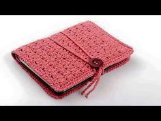 33 Trendy Ideas For Crochet Bookmark Ideas Book Covers Crochet Book Cover, Crochet Case, Crochet Phone Cases, Crochet Motifs, Crochet Books, Crochet Purses, Love Crochet, Crochet Gifts, Knit Crochet