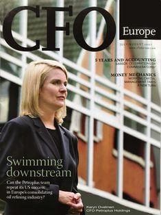 Coverage by CFO Europe Magazine - Karyn Ovelmen