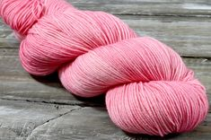Strawberry Cream is a semi-solid colour that is available in the Belle, Solo, Mericana DK, and Aran bases. Yarn Colors, Colours, Strawberries And Cream, Hand Dyed Yarn, Eco Friendly, Strawberry, Hand Painted, Throw Pillows, Wool