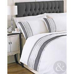 emma barclay parure de lit housse de couette 2 personnes bali noir 230 x 220 cm. Black Bedroom Furniture Sets. Home Design Ideas