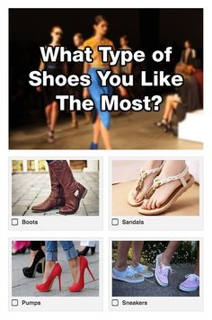 Let's find out what fashion styles you like the most