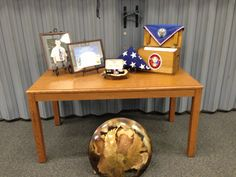 Eagle Scout Court of Honor awards table