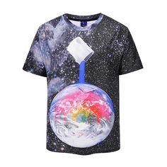 04c705f0d3f5 Planet Short Sleeve T-Shirt Printed Shirts