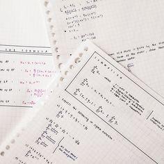 """krispyklene: """" making maths notes. """""""