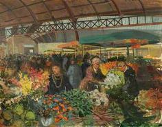 Carlisle Covered Market, (oil on canvas) History Images, Art History, Carlisle, Oil On Canvas, Art Gallery, Museum, Illustration, Photography, Painting