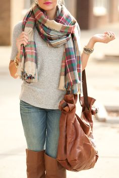 i'm seriously going to need a flannel scarf.
