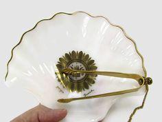 Georges Briard Regalia Dish With Attached Tongs @TreasurePicker #giftideas #vintagekitchen