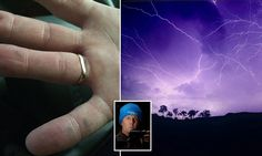 Newcastle photographer Brian Survived survived after he was hit by lightning. He claims the 'life-changing' experience made him psychic and gave him the ability to 'hear' people's thoughts.