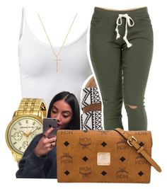 """""""6/30/16"""" by lookatimani ❤ liked on Polyvore featuring Michael Kors, Billabong, MCM and Nephora"""