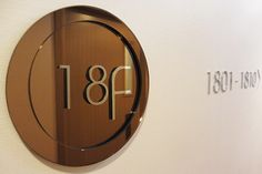 Floor Number and Room Number Directional Signage