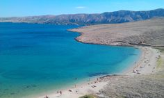 Ručice beach, Pag, Croatia. Photo: Galinec Vladimir