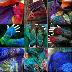 Folt Bolt - the colorful art palette | Yekaterina Mokeyeva - Feuer Und Wasser