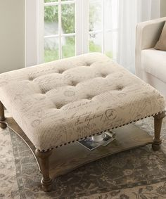 Darcy Cocktail Tufted Ottoman