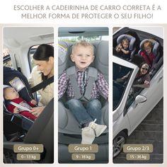 Você sabe qual é a cadeirinha de carro mais adequada para o seu pequeno?  Cadeiras de segurança devem fazer parte da vida do pequeno passageiro desde a saída da maternidade até que ele possa usar o cinto de segurança.  Conheça todas as nossas cadeirinhas em nosso site: www.chicco.com.br