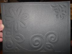 Make your OWN Embossing Plates | Using Cricut cutouts  (also how to use brass stencils in cuttlebug)