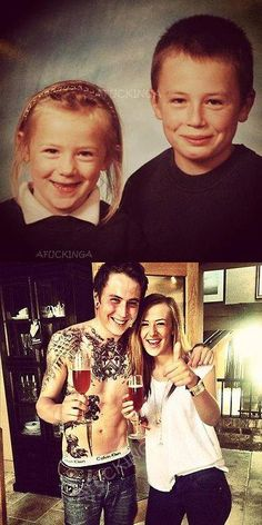 #JamesCassells and his sister. They are so so so cute *w* <3