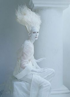 PHANTASMAGORIAS BY TIM WALKER & TILDA SWILTON  http://pilarrossiblog.wordpress.com/2013/04/20/stranger-than-paradise-tilda-swinton-for-w-magazine/