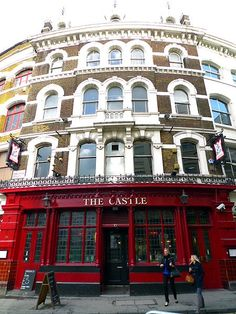 The Castle pub, Cowcross Street, London . The Castle is the only public house in Britain to have a pawnbrokers licence. The story goes that in the 19th century George VI wearing a long cloak and large hat to conceal his identity borrowed £1 from the landlord after gambling away all his ready cash at a cockfight in Clerkenwell. He left his watch as security and went back to the ringside. Next day a messenger redeemed the watch and the king rewarded the publican by granting a pawnbrokers…