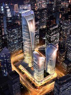 Bodi Center, Hangzhou  #Architecture - ☮k☮