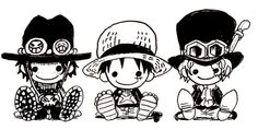 Ace, Luffy and Sabo