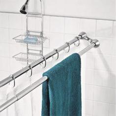 Bubbla stänger, supersmart för små badrum! Tänker designa en egenvariant. Den här är säkert svindyr.