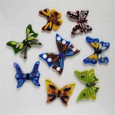 Fused glass decorative BUTTERFLY | Fused glass - fusing