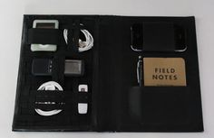 How to: Make a DIY Daily Travel Tech Organizer from an Old Book