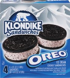 Klondike Ice Cream Bars or Sandwiches at Martins Foods