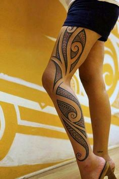 Attractive tribal tattoo designs American Women tribal-tattoos-for-w