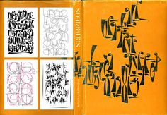 'The Art of Letter-Type by Fred Africkian', 120 Tables of Armenian decorative types.  Languages: Armenian, English, Russian. Armenia, Yerevan, 1984