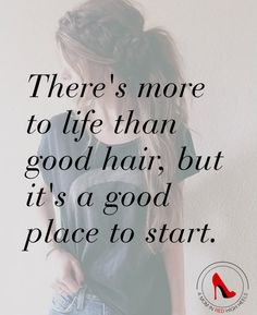 Wishing you a good hair day, every day!