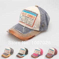 Free shipping New Fashion Men Women Caps Baseball Hats,Vintage Rivet Hip-hop Punk Snapback Hat US $6.00
