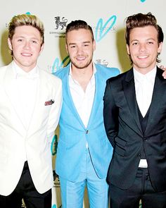 Niall Horan, Liam Payne, Louis Tomlinson at the Trekstock Charity event 2015