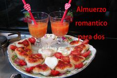 San Valentin: Como hacer un almuerzo romantico para dos. Pranzo romantico